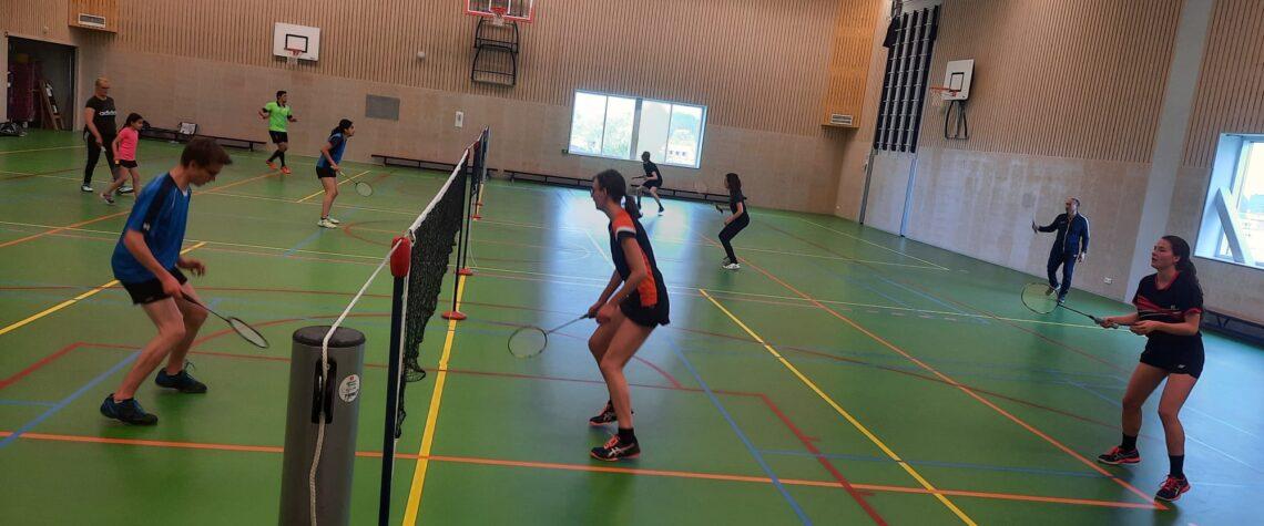 De spelers van de badmintonschool Utrecht gaan weer starten met het nieuwe seizoen!